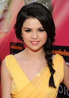 selena gomez hair pictures