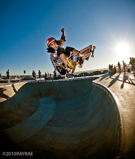 Ray Rae Venice skatepark, Daniel Cuervo