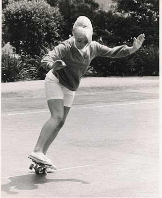 Pat McGee, inductee at the IASC and 1965 skateboard champion
