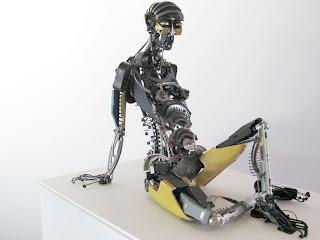 Diseño de robot reciclado