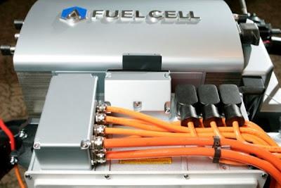 foto de una pila de combustible (fuel cell)