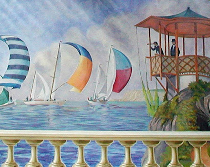 Expresiones art sticas 2010 allgunos tipos de murales for Donde venden papel mural