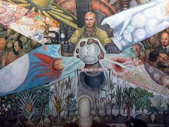Mural de Diego Rivera...