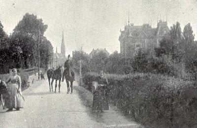 Overijssel plaatsbeschrijvingen 1880 1940 in en om hengeloo borne en delden borne - Gevelversiering villa ...