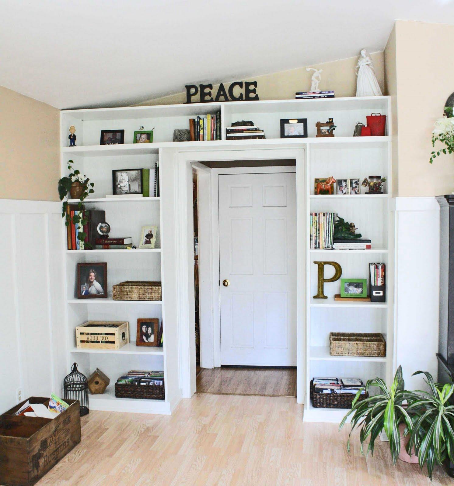 Living Room Built In Storage: = *Superwoman*=: Living Room Built-Ins