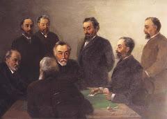 """""""Айвазовский в кругу друзей"""", 1893год"""