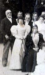Фрагмент фото около 1888 года