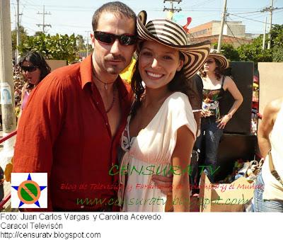 Juan Carlos Vargs y Carolina Acevedo 'Carnaval de Barranquilla'