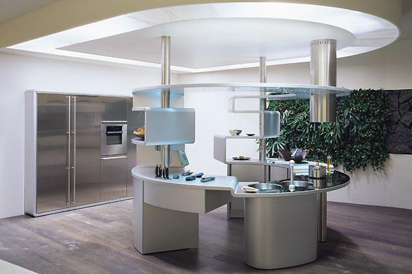 Kitchen Design Think Tank: Curved Kitchen Island