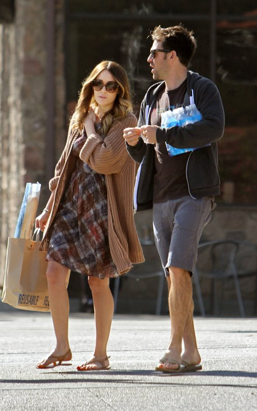 Lauren Conrad And Kyle Howard December 2010. Chilling out in Malibu, Lauren