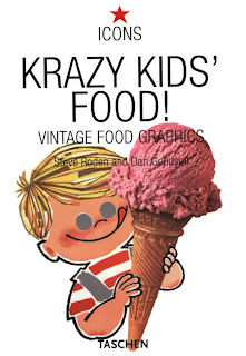 Krazy Kids Food Vintage Food Graphics Book cover