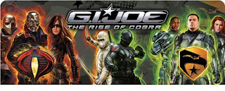 GI Joe The Rise of Cobra Toys