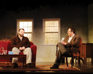 Scott Greer and William Zielinski in Theatre Exile's Shining City