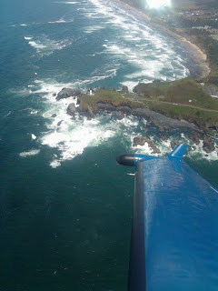 Yaquina Lighthouse from the air