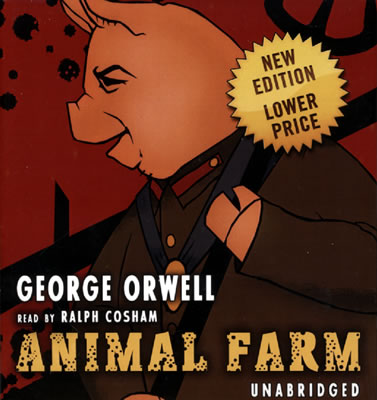 george orwells animal farm Read review of george orwell's animal farm a metaphorical gibe of the russian revolution the book tells a story of farm animals who decide to take control.
