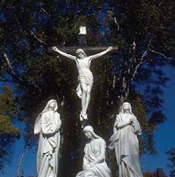 NAMC montessori classroom easter activities history crucifiction statue