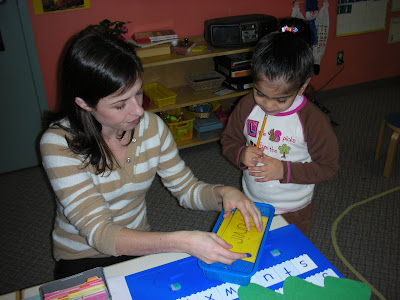 NAMC montessori prepared environment teaching phonics teacher preparation