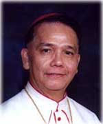 MOST REVEREND  DIOSDADO A. TALAMAYAN, D.D.