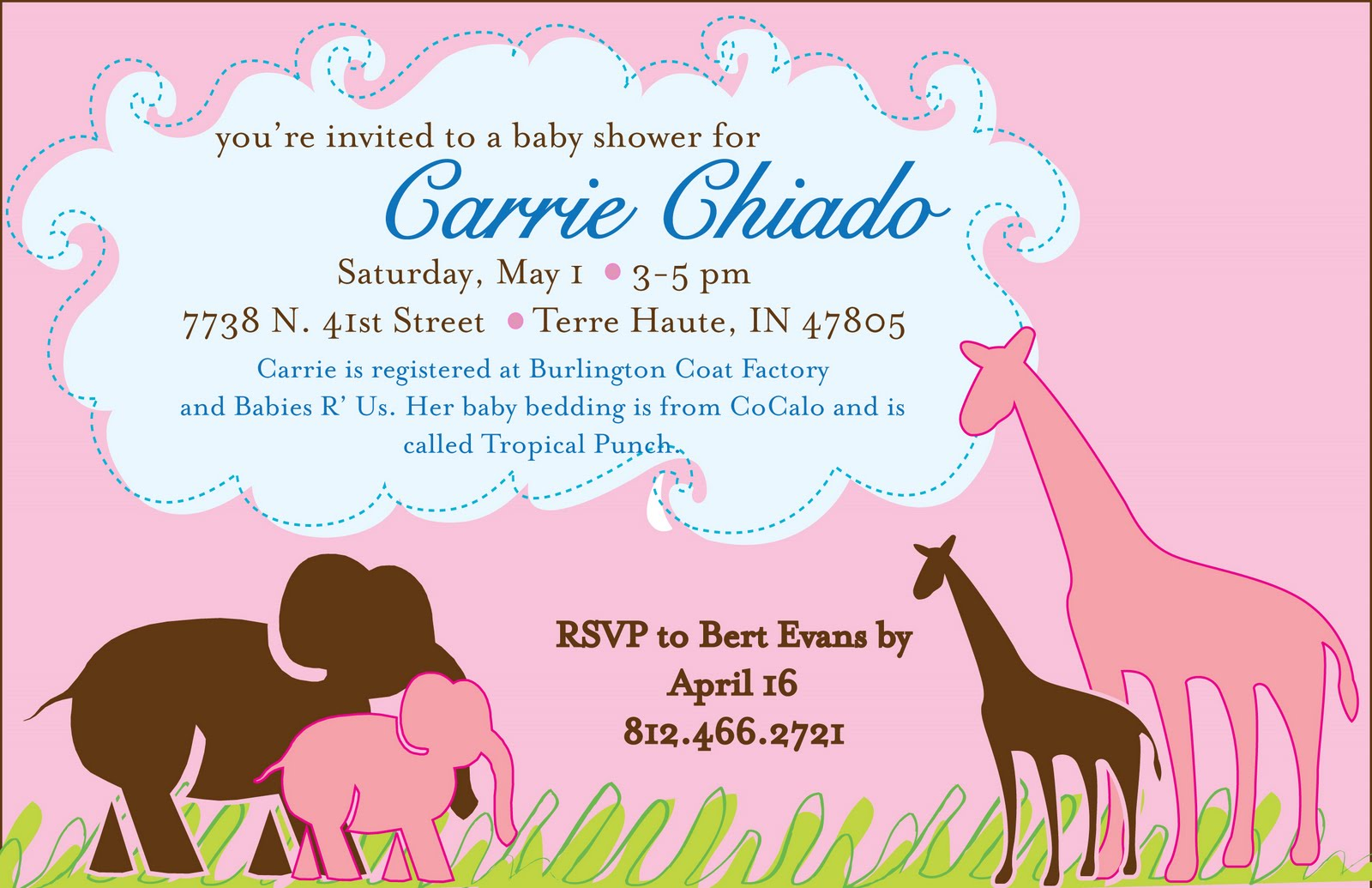 baby shower flyers party invitations ideas