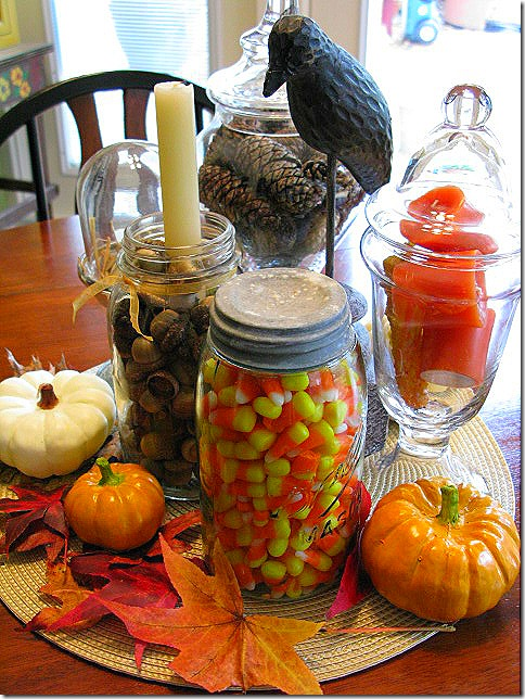 Pattie 39 S Place Fun Fall Jars And Decorating Ideas