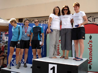 Team Triumph AR on top of the podium