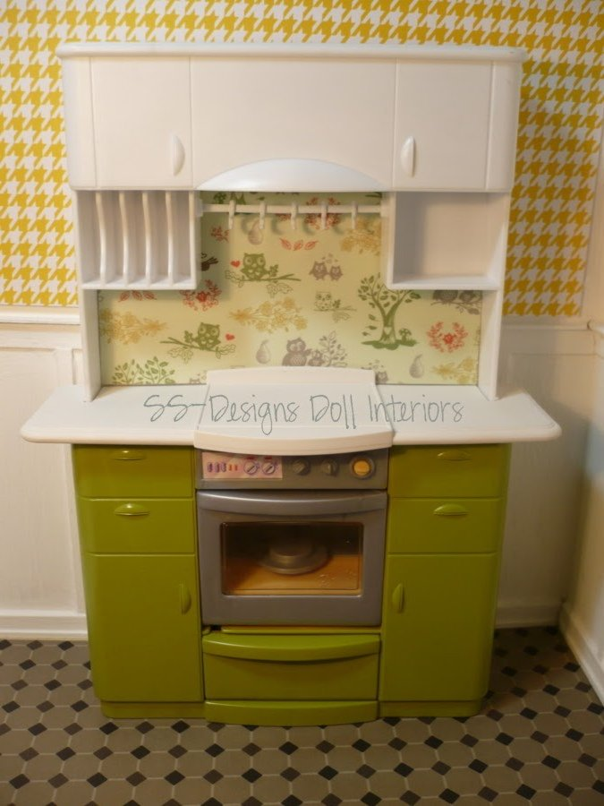 Art Deco Kitchen Cabinets