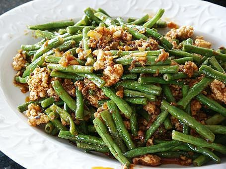 Little Corner Of Mine Spicy Long Beans With Minced Chicken