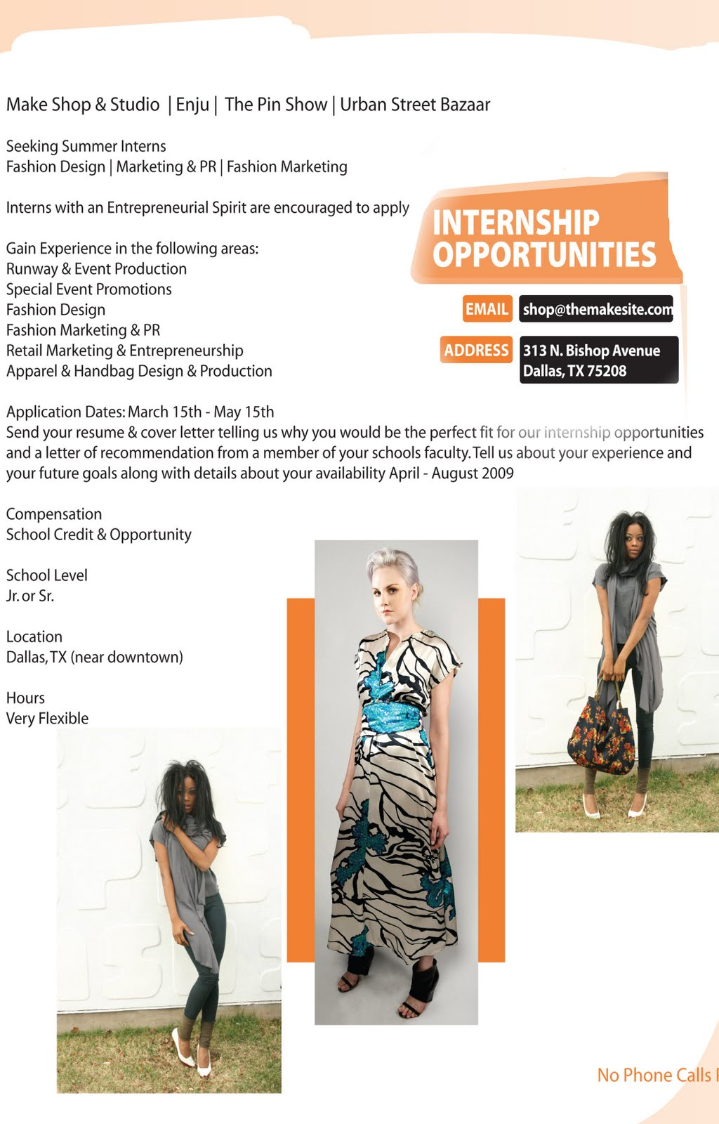 Fashion Design Blog Internship Opportunities