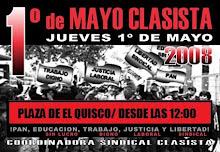 1 de mayo provincia de San Antonio