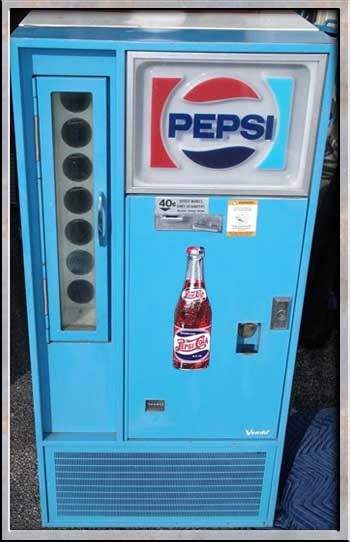 Trinetee You Are What You Eat Old Pepsi Machine