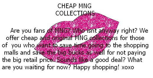 cheap mng collections!!