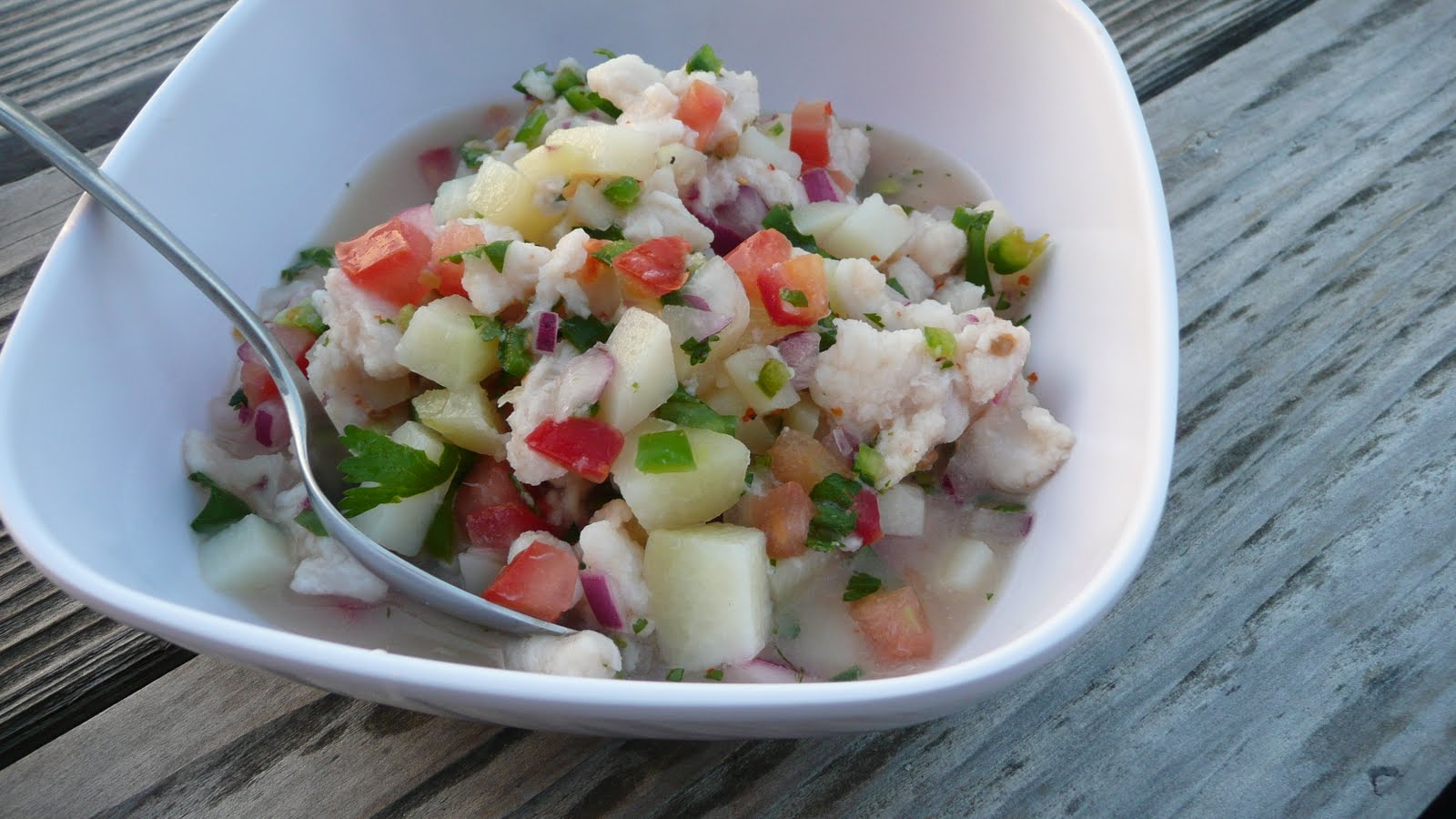 Viva la Cocina: Ceviche de Pescado (Fish Ceviche)