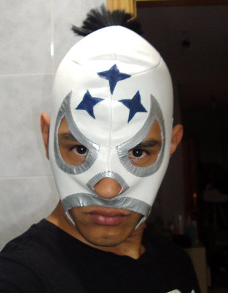Muchalucha c mo hacer una m scara de lucha libre - Como hacer una mascara ...