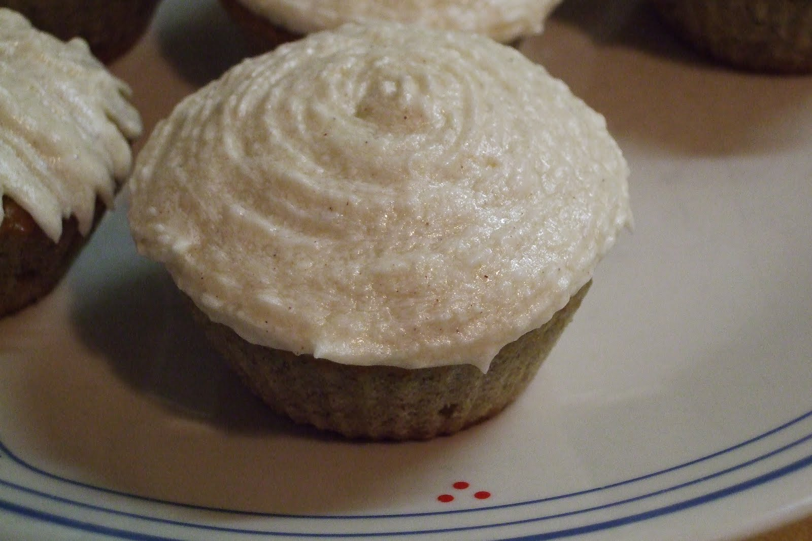 What's for Dinner??: Banana Cupcake with Honey Cinnamon ...