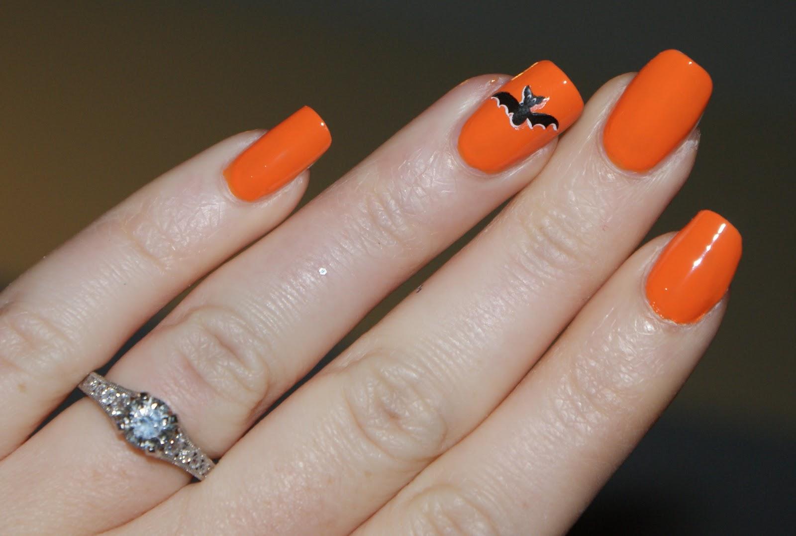 Babbling Brooke: October Orange - Black, Orange, & Bats