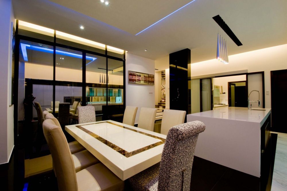 Interior design living hall in malaysia star furniture for Living hall interior