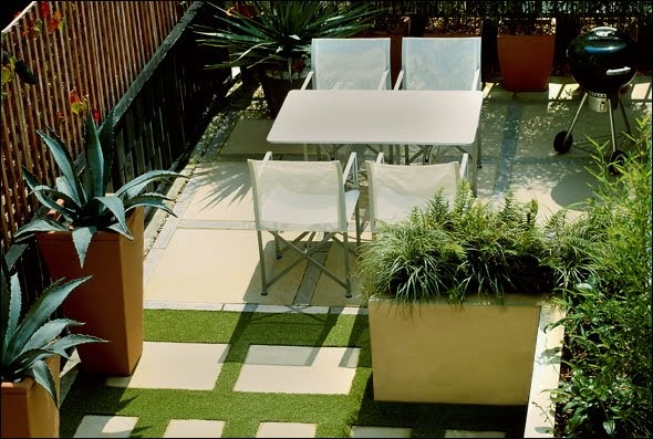 Minimalist Architecture and Home Interior: roof gardens