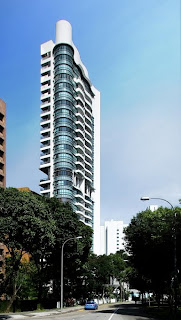 luxury residential tower in Singapore