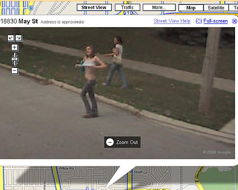 street view funny google