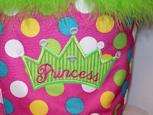 Princess crown on Market tote