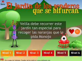 JUGAR AL JARDIN DE LOS SENDEROS QUE SE BIFURCAN