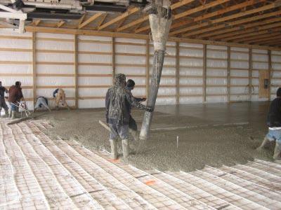 Quantity surveying industrial building floor construction - Intermediate floor casting ...
