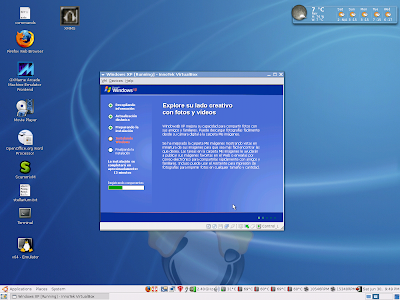 how to get out of fullscreen windows xp