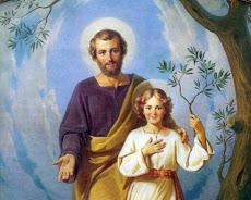 SAN JOSÉ, PADRE DE JESÚS Y ESPOSO DE LA VIRGEN MARÍA