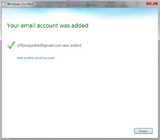email account registered