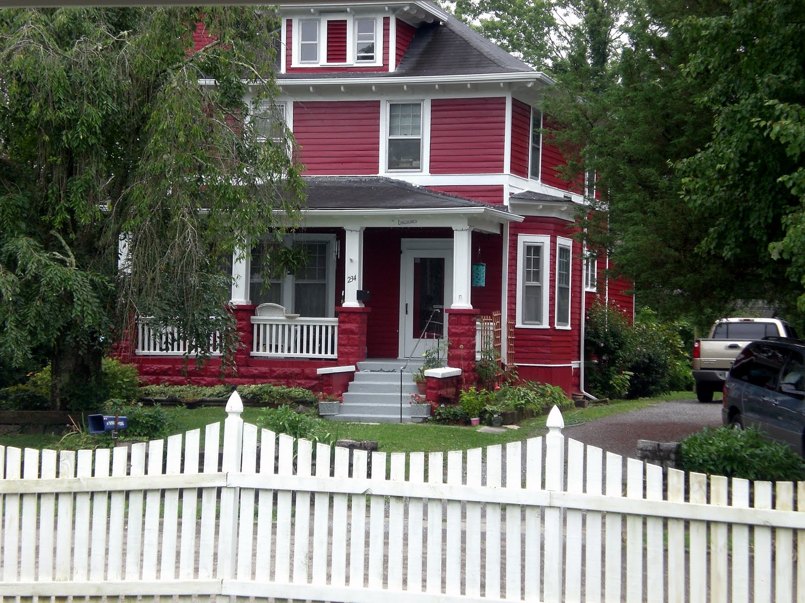 Painted Brick Home Home Painting Ideas