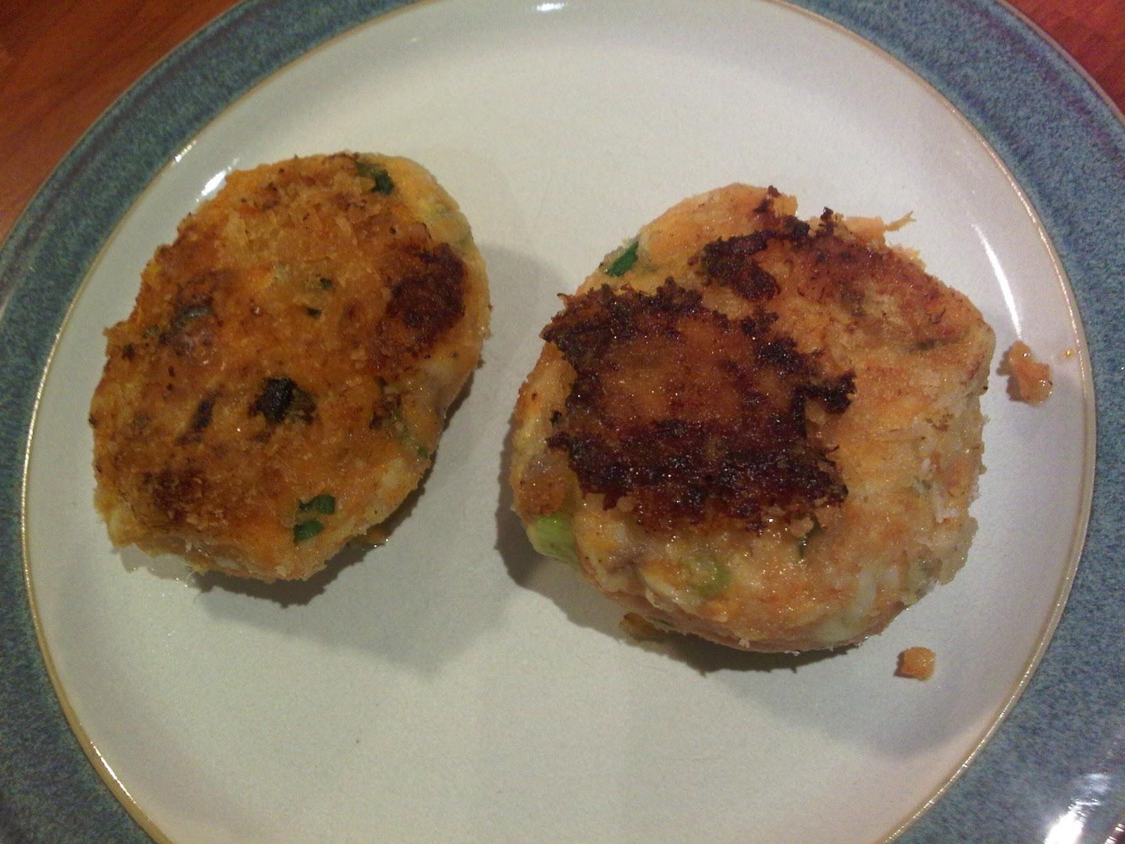 VegBoxBoy: 230: Tilapia and Sweet Potato Fishcakes, Levi Roots recipe