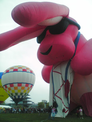 What is a Balloon Glow Festival? Giant Hot Air Balloons with Fun Shapes!