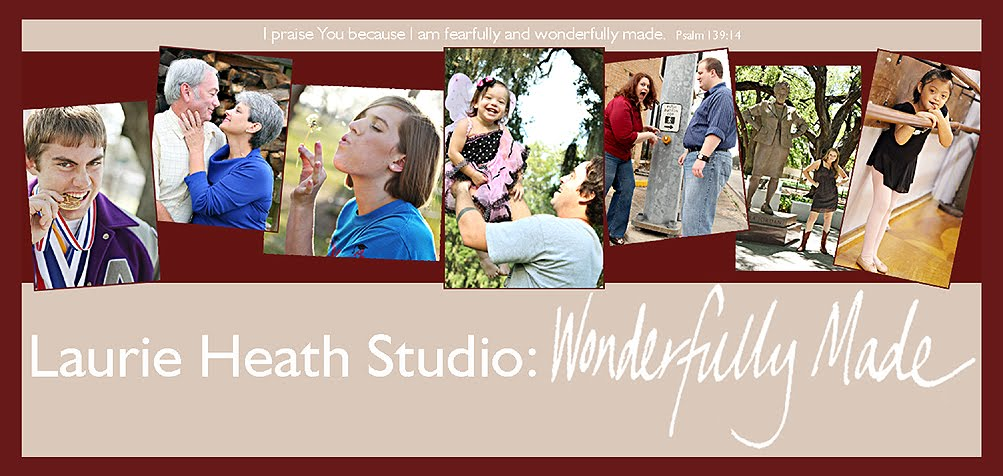 Laurie Heath Studio:  Wonderfully Made