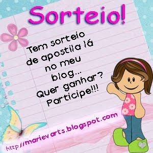SORTEIOS!!!